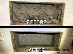 Before_After - Green Clean_Air Duct