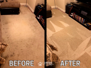 Before_After - Green Clean_Carpet Cleaning